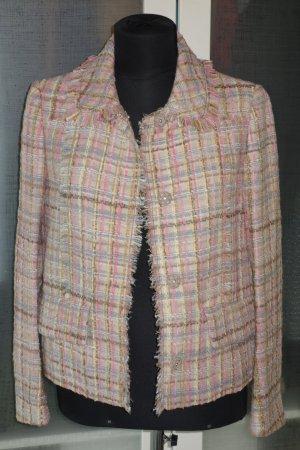 Org. MIU MIU Tweed Jacke kastenförmig multicolour Gr.34