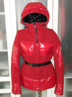 Org. MONCLER Grenoble Daunen Ski-Jacke rot Gr.38/40 sold out