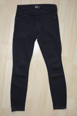"Org. MOTHER ""The Looker"" skinny Jeans in schwarz Gr.24"