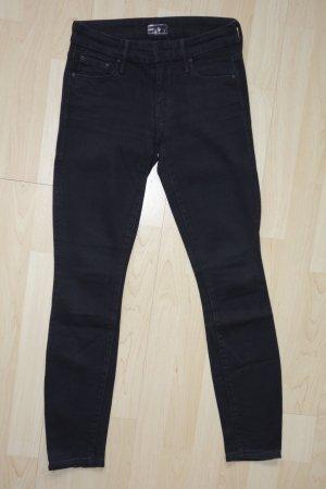 "Org. MOTHER ""The Looker"" skinny Jeans in schwarz Gr.24"