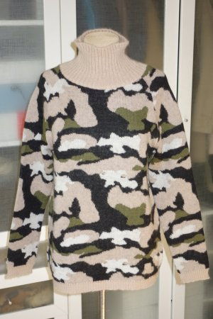 MSGM Turtleneck Sweater multicolored