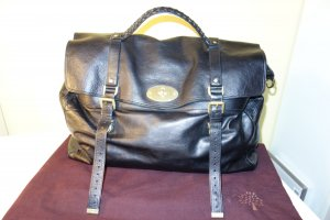 Mulberry Weekender Bag black leather
