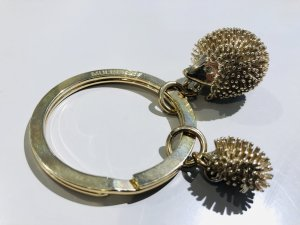 Mulberry Key Chain gold-colored