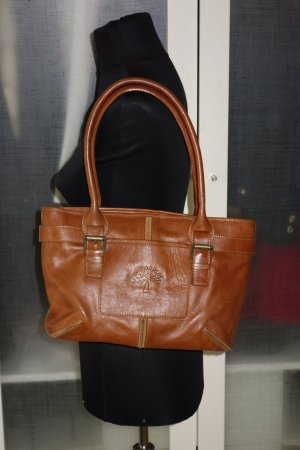 Org. MULBERRY Ledertasche braun top