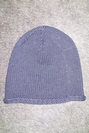 Org. NEIL BARRETT Woll-Mütze dunkelblau