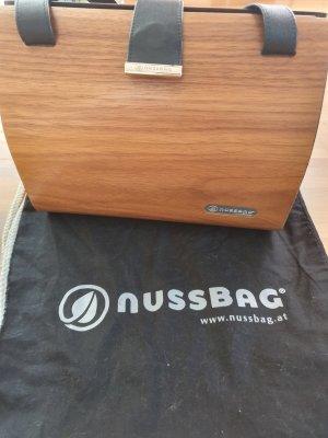 Org. Nussbag Holz Handtasche