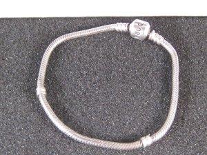 Org. Pandora Charm Silber Armband 19 cm