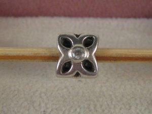 Org. Pandora Charm Silber Blume
