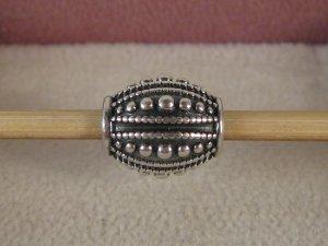 Org. Pandora Charm Silber In der Form eines Baseballs
