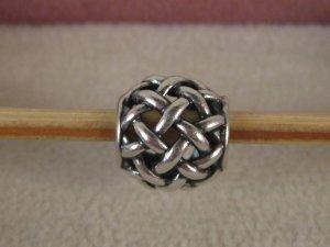 Org. Pandora Charm Silber Knoten