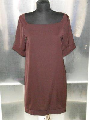 Org. PATRIZIA PEPE Kleid braunrot Gr.38 top
