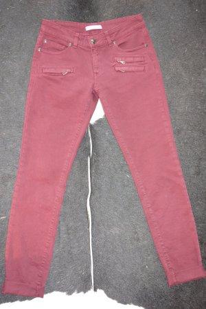 Org. PIERRE BALMAIN Jeans in dunkelrot Gr.31