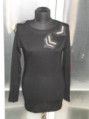 Org. PIERRE BALMAIN Pullover/Langarmshirt mit Applikationen wie neu