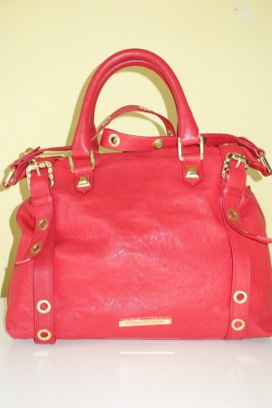 Pierre Balmain Traditional Bag red leather