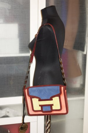 Org. PIERRE HARDY Schultertasche/Clutch colour blocking NEU+Etikett