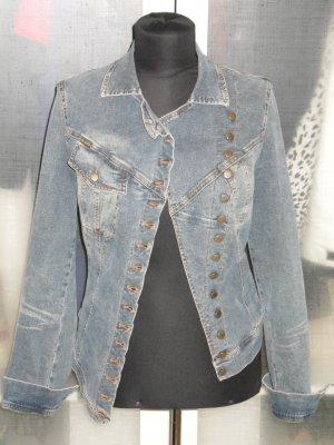 Org. PLEIN SUD Jeans Jeansjacke im coolen Stil 34/36