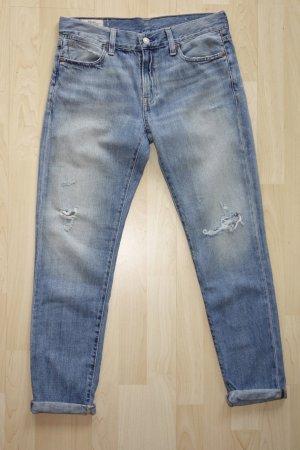 Org. POLO RALPH LAUREN slim boyfriend Jeans distressed Gr.27