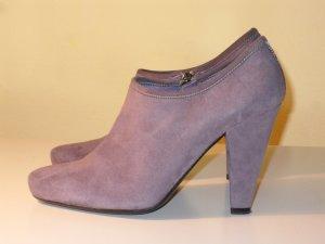 Org. PRADA Ankle Boots pflaume Gr.36