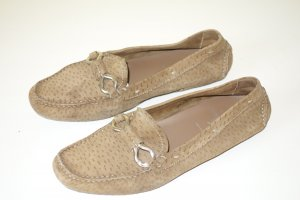 Org. PRADA Loafer/Slipper in hellbraun Gr.38