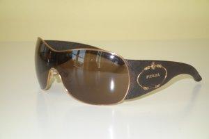 Org. PRADA oversized Sonnenbrille braun/gold