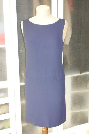 Org. PRADA shift dress/Etuikleid in dunkelblau Gr.36