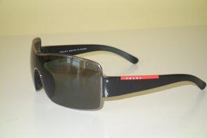 Org. PRADA Sonnenbrille SPS 50E schwarz/silber