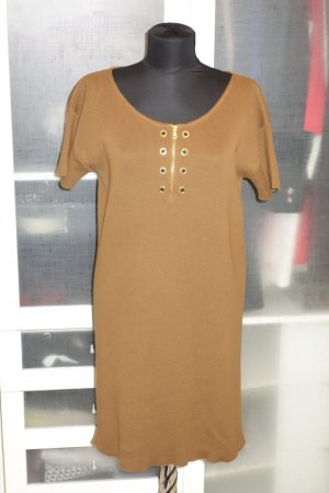 Org. PRADA Strickkleid in cognac Gr.38/40