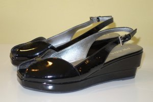 Prada Wedge Sandals black