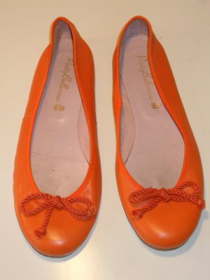Org. PRETTY BALLERINAS in orange Gr.39,5