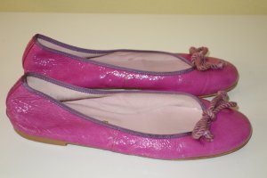 Org. PRETTY BALLERINAS Lackleder pink Gr.38