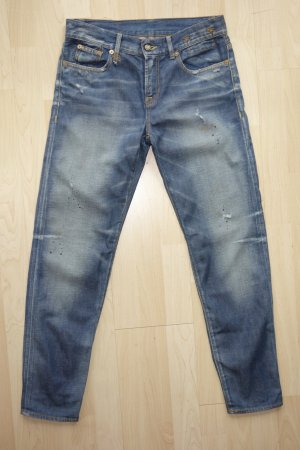 Org. R13 relaxed skinny boyfriend Jeans distressed Look Gr.26