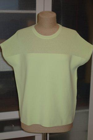 Org. RAG & BONE oversized Strick Shirt mit Perforierungen neongelb Gr.S