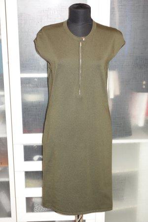 Org. RALPH LAUREN black label Jersey Kleid khaki Gr.40