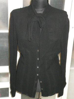 Org. RED Valentino Schluppen-Bluse in schwarz Gr.38