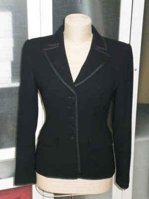 Org. RENA LANGE Blazer in schwarz Smoking Look Gr.38