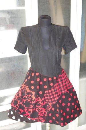 Org. RENA LANGE Runway Couture Kleid ausgestellt Gr.36
