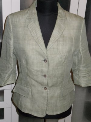 Org. RENE LEZARD Kurz-Blazer mit 3/4-Ärmeln grün Gr.36