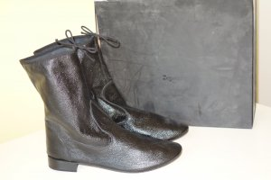 Repetto Slouch Booties black leather