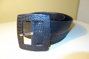 Reptile's House Leather Belt black