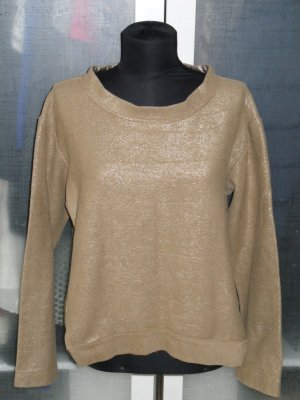 Org. SCHUMACHER Kastenpullover gold top