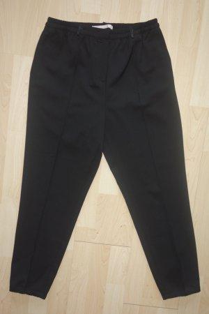 Org. SCHUMACHER lässige Bundfaltenhose in schwarz Gr.38