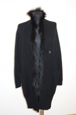 Schumacher Coarse Knitted Jacket black