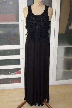Org. SCHUMACHER Maxi-Kleid mit Grobstrick-Top und drapiertem Rock Gr.36