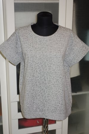 Org. SCHUMACHER oversized Shirt mit Animalmuster grau Gr.38/40