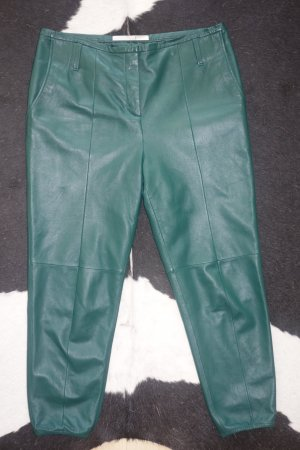 Schumacher Leather Trousers forest green leather