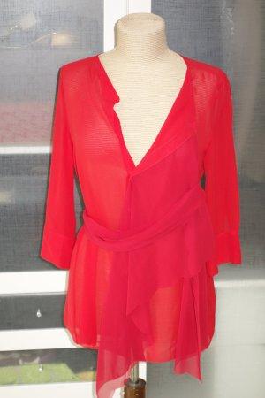 Schumacher Zijden blouse rood Zijde