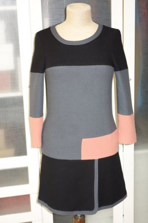 See by Chloé Woolen Dress multicolored wool