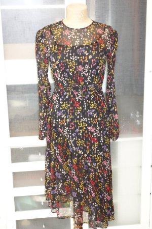 See by Chloé Midi Dress multicolored silk