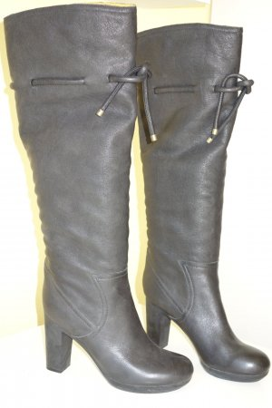See by Chloé Slouch Boots black leather