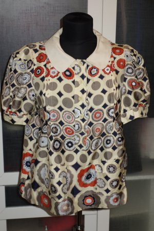 Org. SEE BY CHLOE Seiden-Bluse mit Muster Gr.40